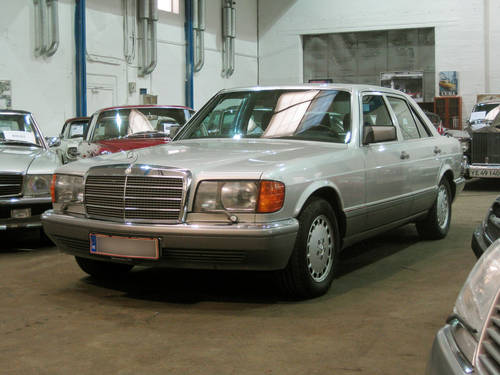 1990 Mercedes-Benz 500 SE (W126) 94.000 km!!! LHD For Sale (picture 1 of 6)