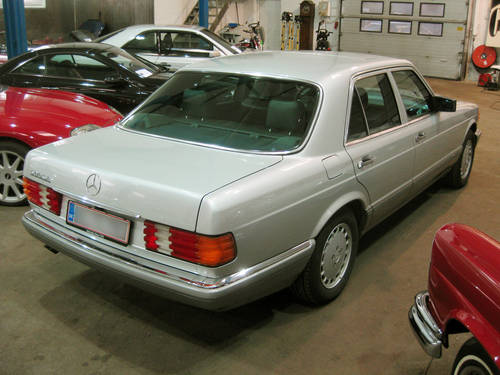 1990 Mercedes-Benz 500 SE (W126) 94.000 km!!! LHD For Sale (picture 2 of 6)