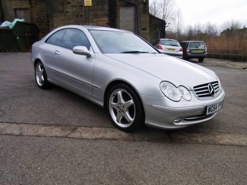 2004 Mercedes-Benz CLK 320 Avantgarde SOLD (picture 1 of 6)