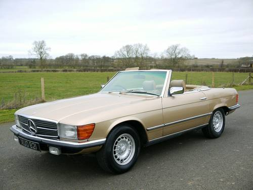 1977 MERCEDES SL CLASS 350  SOLD (picture 1 of 6)