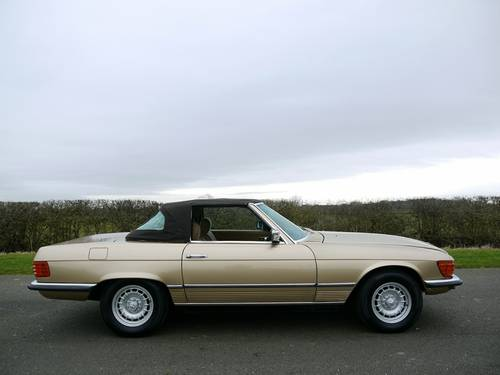 1977 MERCEDES SL CLASS 350  SOLD (picture 4 of 6)
