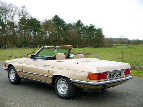 1977 MERCEDES SL CLASS 350  SOLD (picture 5 of 6)