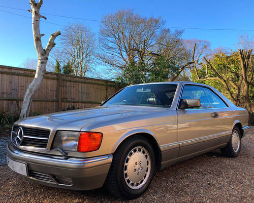 1989 Mercedes 500SEC C126 **SOLD - MORE WANTED** 560 Wanted (picture 1 of 6)