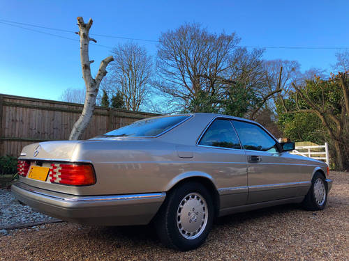 1989 Mercedes 500SEC C126 **SOLD - MORE WANTED** 560 Wanted (picture 2 of 6)