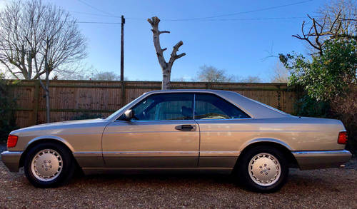 1989 Mercedes 500SEC C126 **SOLD - MORE WANTED** 560 Wanted (picture 3 of 6)