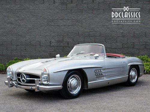 1957 Mercedes 300 SL Roadster (LHD) SOLD (picture 1 of 6)