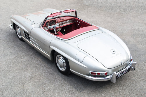 1957 Mercedes 300 SL Roadster (LHD) SOLD (picture 3 of 6)