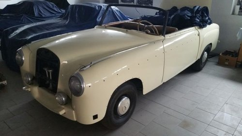 1957 Mercedes Benz 220 SE Convertible 2 owners For Sale (picture 1 of 6)