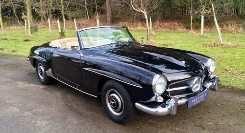 1956 Mercedes-Benz 190SL Cabriolet - Beautifully Restored SOLD (picture 1 of 6)