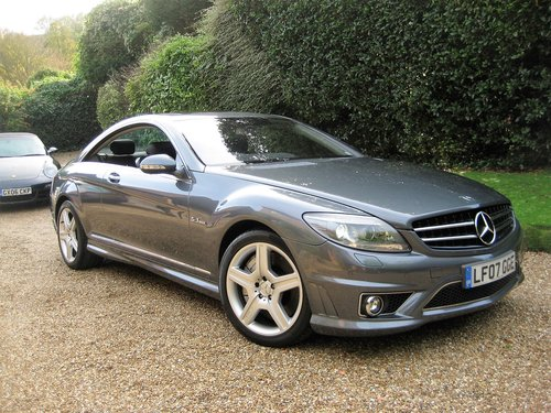 2007 Mercedes Benz CL63 AMG With Only 36,000 Miles From New For Sale (picture 2 of 6)