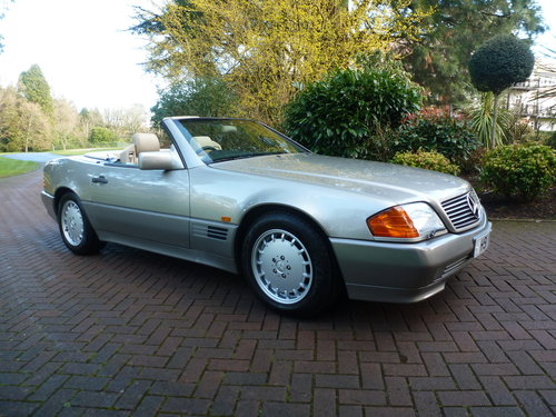 1991 UK Supplied SL500. Only 62k+One Family ownership for 26 yrs! SOLD (picture 1 of 6)