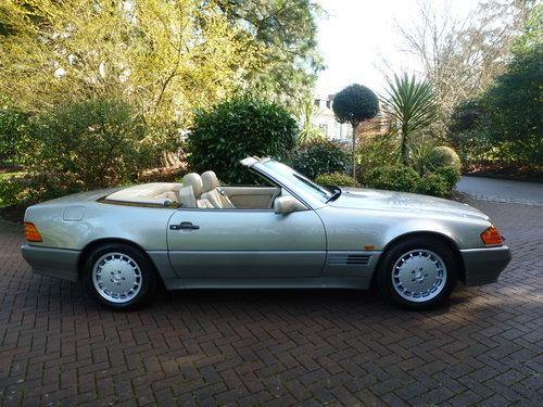 1991 UK Supplied SL500. Only 62k+One Family ownership for 26 yrs! SOLD (picture 3 of 6)