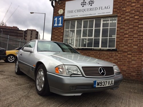 1995 Mercedes-Benz SL500 Auto 129 series, 1 owner, 21000 Mil SOLD (picture 6 of 6)