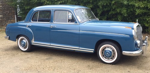 Mercedes 220 SE 1959 For Sale (picture 1 of 6)