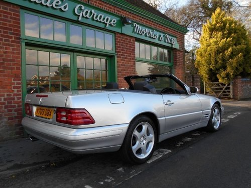 2001 Mercedes SL 320 Convertible  For Sale (picture 3 of 4)