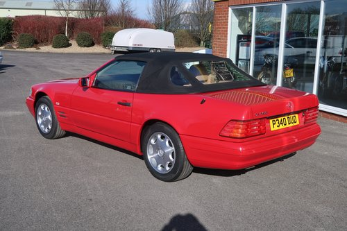 1997 Mercedes 500SL Roadster ONE OWNER  SOLD (picture 3 of 6)