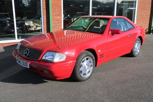 1997 Mercedes 500SL Roadster ONE OWNER  SOLD (picture 4 of 6)