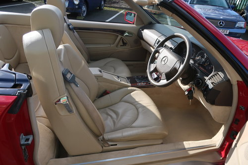 1997 Mercedes 500SL Roadster ONE OWNER  SOLD (picture 5 of 6)