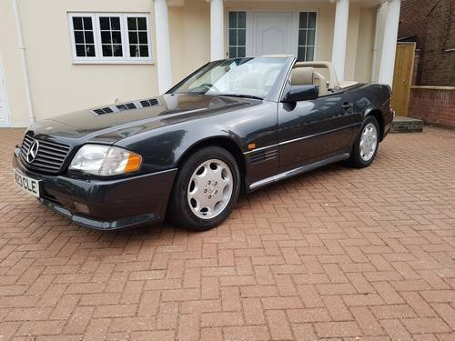 1995 Mercedes SL320 AMG SOLD (picture 1 of 6)