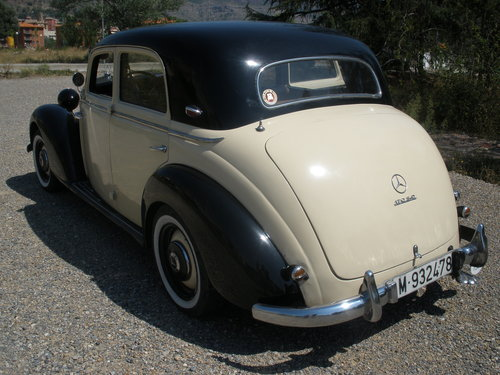 1954 Mercedes 170 sd For Sale (picture 4 of 6)