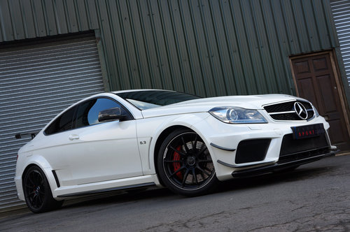 2012 Mercedes C63 AMG Black Series - Aero, Carbon, 36k, FMBSH. SOLD (picture 2 of 6)