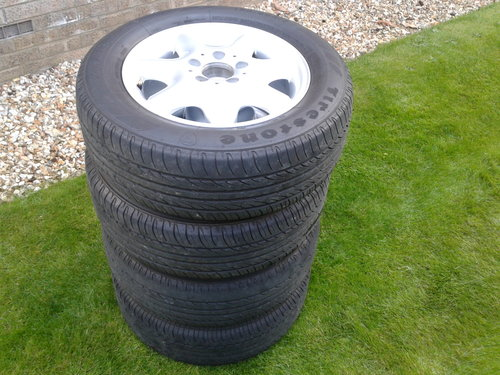 2003 Mercedes–Benz Set 4 Alloy Wheels & Tyres Refurbished 15 Inch SOLD (picture 5 of 6)