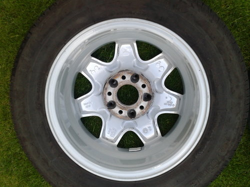 2003 Mercedes–Benz Set 4 Alloy Wheels & Tyres Refurbished 15 Inch SOLD (picture 4 of 6)