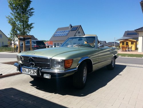 1973 Mercedes 450SL SOLD (picture 1 of 4)