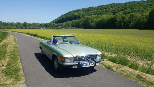 1973 Mercedes 450SL SOLD (picture 4 of 4)