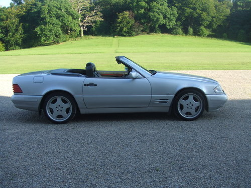 1997  Mercedes SL320 Automatic (5 Speed) For Sale (picture 2 of 5)