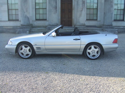 1997  Mercedes SL320 Automatic (5 Speed) For Sale (picture 3 of 5)