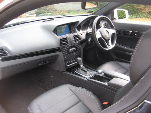 2013 Mercedes Benz E350 CDI BlueEfficiency AMG Sport Coupe For Sale (picture 3 of 6)