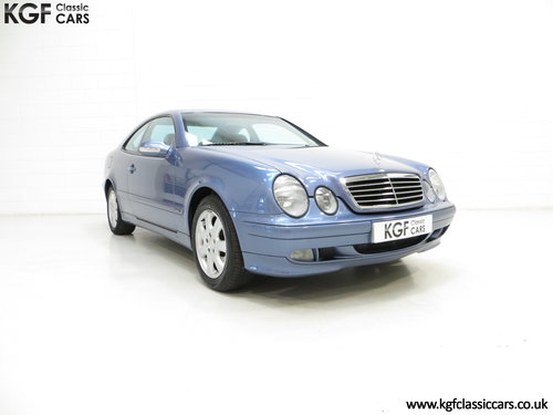 2001 A One-Owner Mercedes-Benz CLK320 Avantgarde (C208) SOLD (picture 1 of 6)
