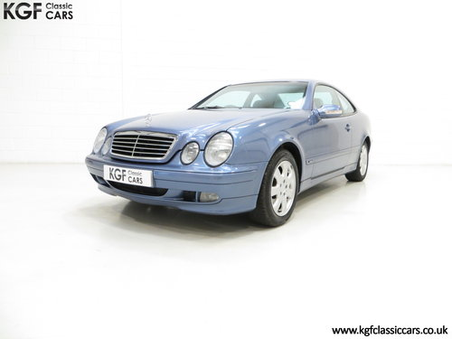 2001 A One-Owner Mercedes-Benz CLK320 Avantgarde (C208) SOLD (picture 2 of 6)