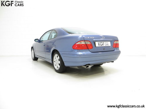 2001 A One-Owner Mercedes-Benz CLK320 Avantgarde (C208) SOLD (picture 4 of 6)