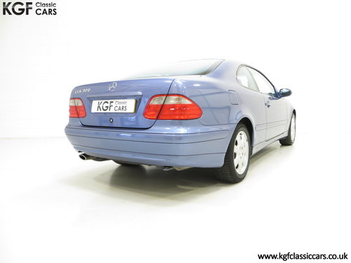 2001 A One-Owner Mercedes-Benz CLK320 Avantgarde (C208) SOLD (picture 5 of 6)