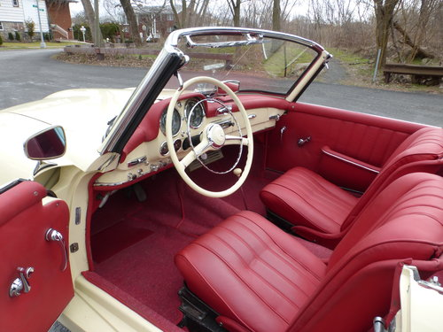 1956 Mercedes 190SL Nicely Restored - For Sale (picture 5 of 6)
