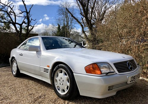 1992/J - **SOLD** Mercedes 300SL-24 R129. 43k miles. Wanted (picture 1 of 6)