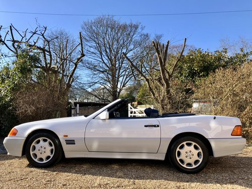1992/J - **SOLD** Mercedes 300SL-24 R129. 43k miles. Wanted (picture 2 of 6)