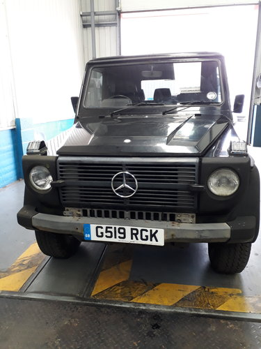 1989 Mercedes 280GE Short Wheel Base G-Wagon SOLD (picture 1 of 6)
