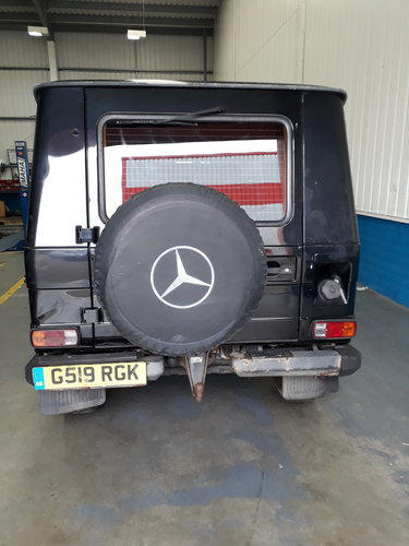 1989 Mercedes 280GE Short Wheel Base G-Wagon SOLD (picture 3 of 6)
