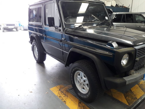 1989 Mercedes 280GE Short Wheel Base G-Wagon SOLD (picture 4 of 6)