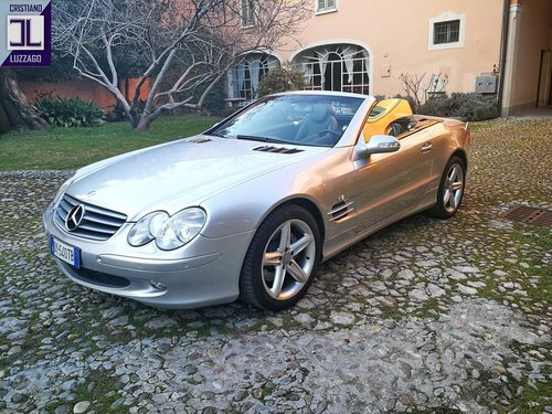 2001 MERCEDES 500 SL ROADSTER For Sale (picture 1 of 6)