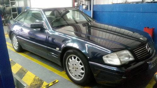 Mercedes SL320 Auto (1996) For Sale (picture 1 of 6)