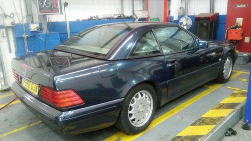 Mercedes SL320 Auto (1996) For Sale (picture 3 of 6)