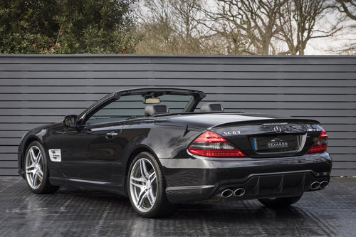 2009 MERCEDES SL63 AMG PERFORMANCE PACK F1 SOLD (picture 2 of 6)