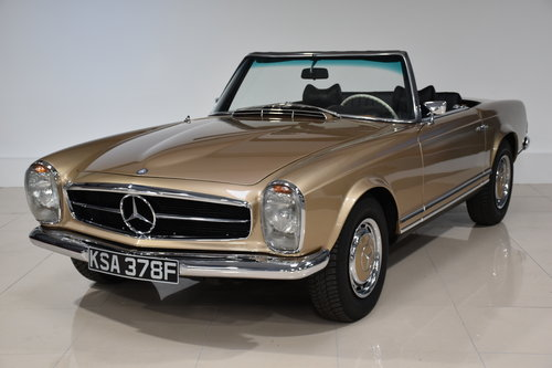 1968 Mercedes 280SL Pagoda California For Sale (picture 1 of 6)