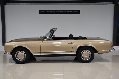 1968 Mercedes 280SL Pagoda California For Sale (picture 2 of 6)