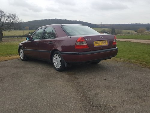 Mercedes C180 Esprit Auto Low Mileage 1996 For Sale (picture 2 of 6)