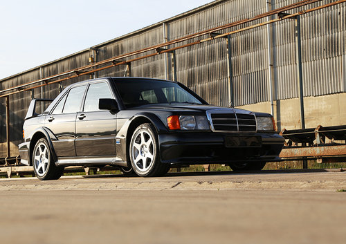 1991 Mercedes 190E 2.5 16v Evo2 lhd nr 276/500 perfect condition For Sale (picture 2 of 6)